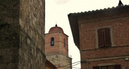 Chiusi - cupola rosa