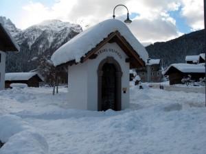 Capitello dei Peck sotto la neve