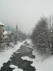 In lontananza nella neve…