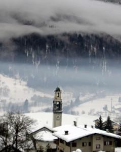 La nebbia dopo la neve..