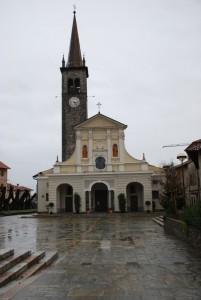 S. Maria Assunta sotto la pioggia