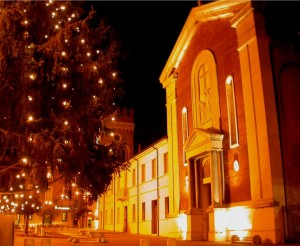 le calde luci del Natale
