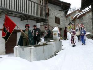 Fontana di Vaud con le maschere