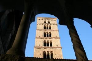 Santa Scolastica - Il campanile romanico