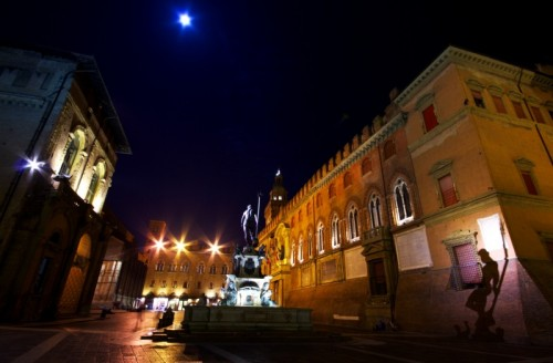 Bologna - Nettuno e la sua ombra
