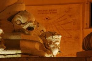 Dettaglio della Fontana Pia