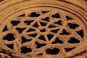 Rosone di S.Maria Maggiore - dettaglio