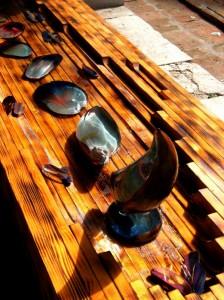 La fontana del Museo del Vetro di Murano