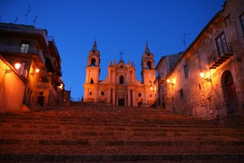 Palma di Montechiaro - La notte ....che suggestione!