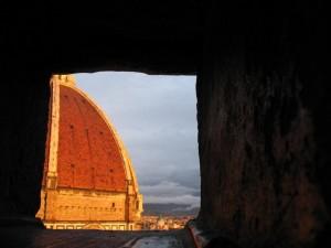 Spiando il Brunelleschi..