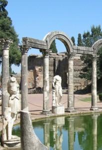 A gentile richiesta..ecco il lato-A- della fontana di villa Adriana.