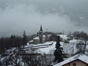 tra nebbie e neve
