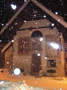 Chiesa di S. Orsola la grande nevicata del 2008
