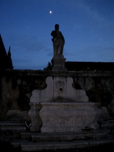 La fontana e la luna