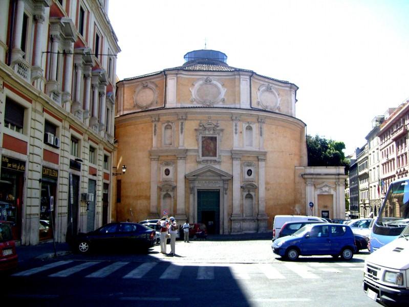 ''Chiesa di San Bernardo-Roma.'' - Roma