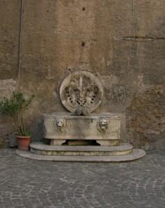 Fontana di palazzo Mattei.