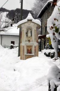 Protetta… dalla neve!