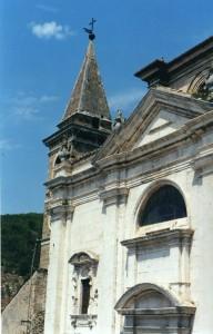 Chiesa di Popoli un decennio fa