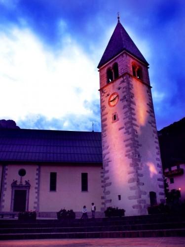 Molveno - Chiesa con campanile, Molveno 2007