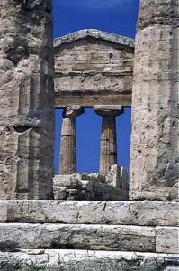 Tempio di Cerere o Atena, Paestum, 500 a. C.