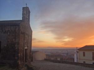 San Gemiliano al tramonto
