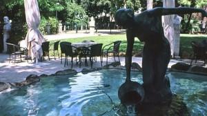 Il guardone, Villa Borghese.