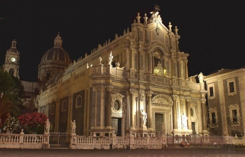 Catania - Il Duomo di notte