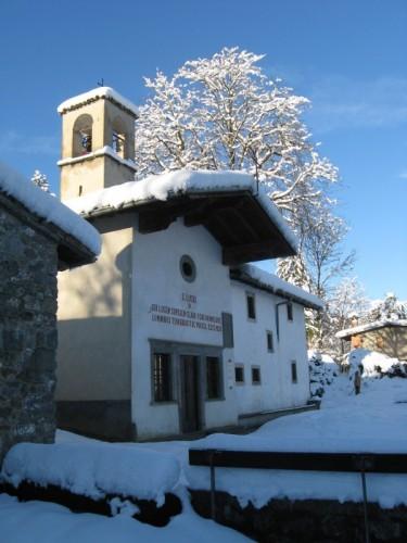 Clusone - Prima Neve a San Lucio