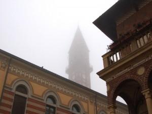 Nebbia in Lomellina