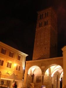 RIETI - La Medioevale Torre Campanaria