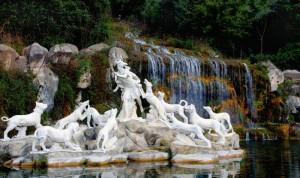 Reggia di Caserta - Fontana di Diana e Atteone