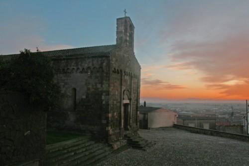 Samassi - tramonto d'inverno