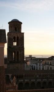 Cattedrale di Salerno al tramonto