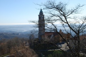 Santo Stefano domina la pianura