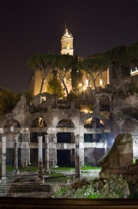 Fori imperiali by night
