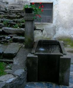 Una delle antiche forntane di Carcoforo
