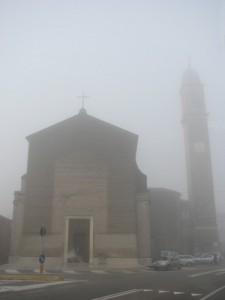 La vera nebbia in Val Padana