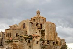 Nuvole sulla Cattedrale della Madonna dell'Assunta