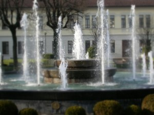 Fontana di Piazza 4 Novembre a Lissone