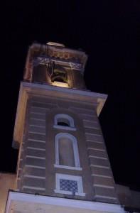 campanile della chiaesa di sampierdicanne