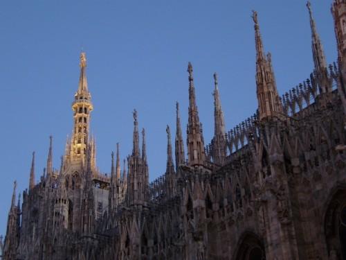 Milano - la madonnina illuminata