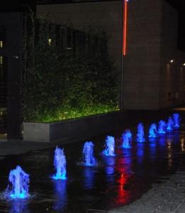 Danza e luci multicolori