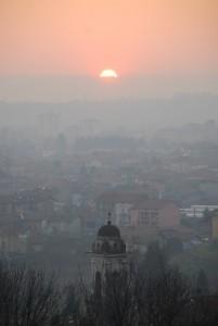 Il Campanile, Biella, la Serra e…il sole
