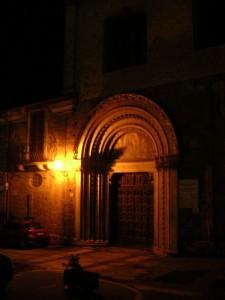 Cittàducale - Portale della Chiesa di S. Agostino