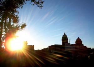 Le chiese, il sole, l'armonia