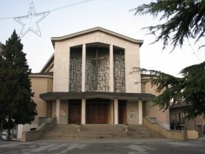 Chiesa di Stra a Natale