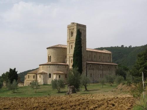 Montalcino - Abbazia di Sant'Antimo