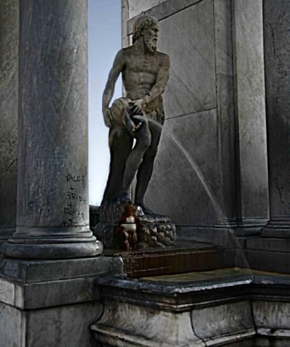 Napoli - fontana del gigante