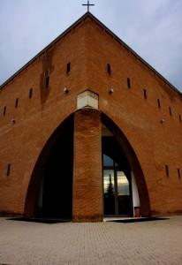 """Chiesa """"geometrica"""" dello Spirito santo"""