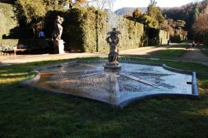 la fontana del parco